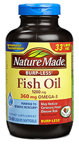 Nature Made Omega3 Supplement Review