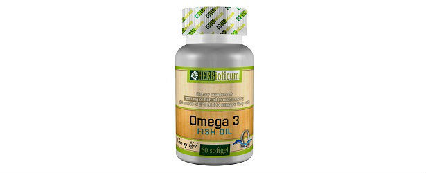 Omega 3 fish oil by herbioticum review for Fish oil ratings