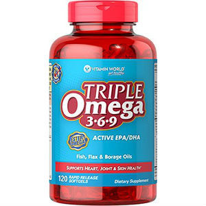 What are some potential side effects of taking omega 3 6 9 for Dr axe fish oil